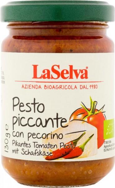 Pesto piccante con pecorino - Pesto piccante al pomodoro - 130g