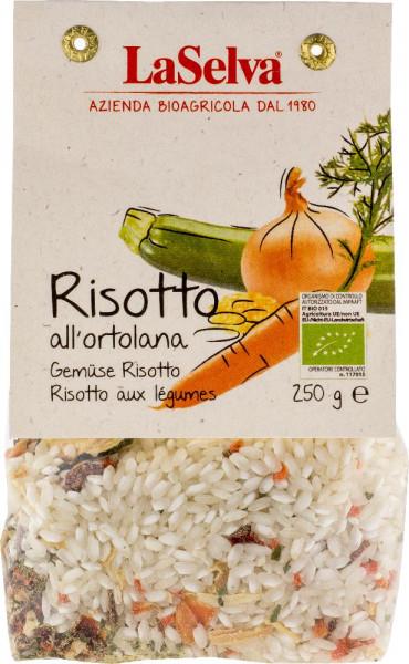 Risotto all'ortolana - Preparato disidratato per risotto all'ortolana - 250g