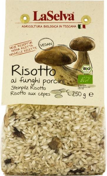 Risotto ai funghi porcini - Preparato disidratato per risotto - 250g