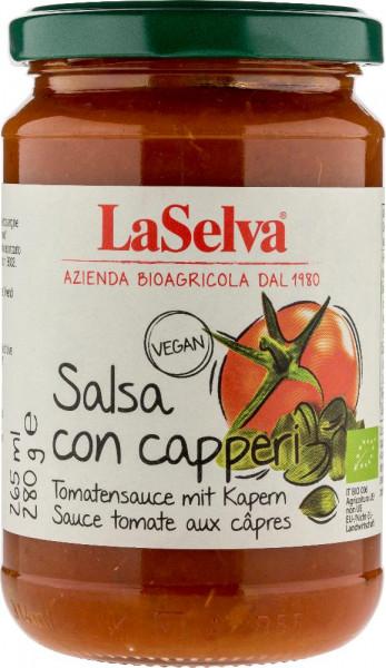 Salsa di pomodoro con capperi - 280g