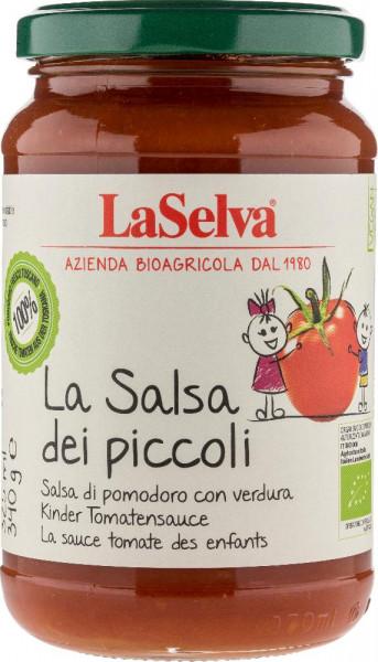 La salsa dei piccoli - Salsa di pomodoro con verdura - 340g