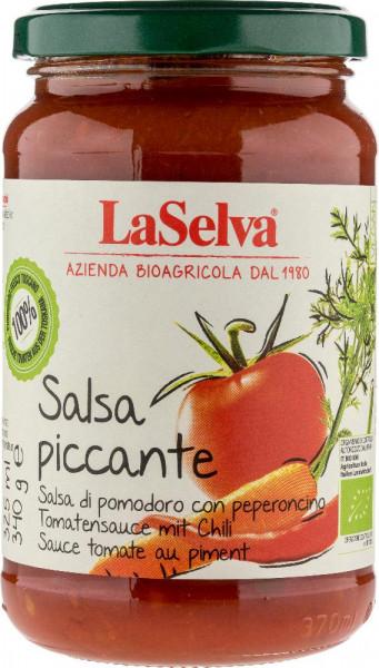 Salsa piccante - Salsa di pomodoro con verdure fresche e peperoncini - 340g