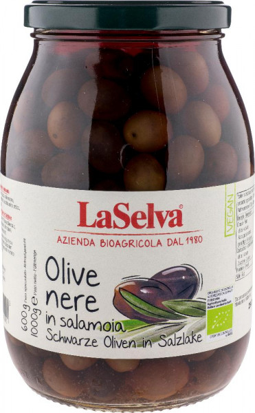 Olive Nere in salamoia - 1kg