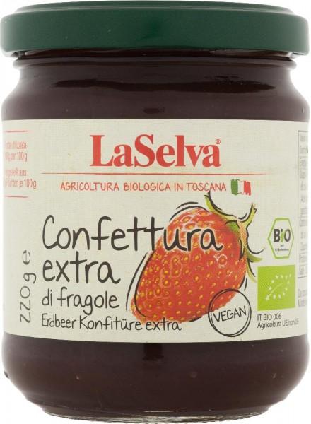 Confettura extra di fragole - 220g