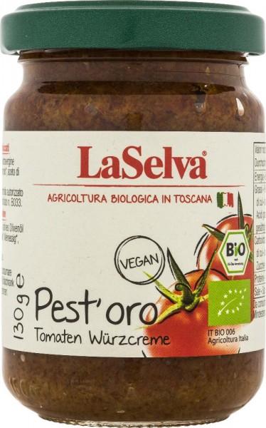 Pest'oro - Condimento a base di pomodori essiccati - 130g