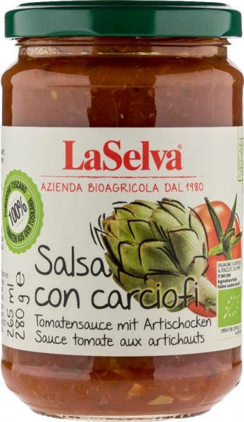 Salsa di pomodoro con carciofi - 280g
