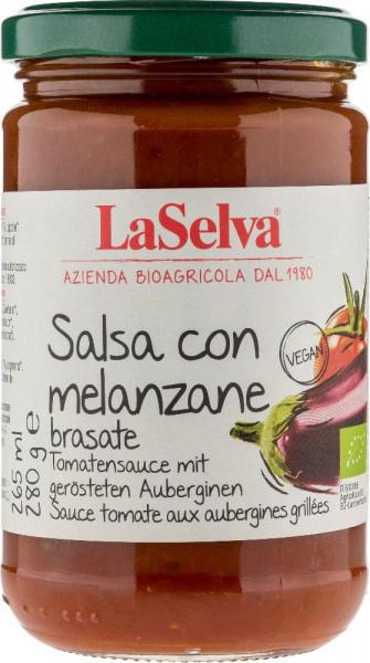 Salsa di pomodoro con melanzane brasate - 280g