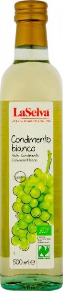 Condimento bianco - Condimento alimentare di vino bianco e mosto d'uva - 500ml