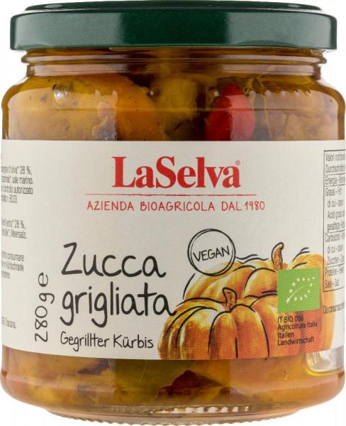Zucca grigliata sott'olio d'oliva - 280g