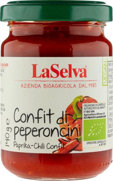 Confit di peperoncini - preparazione piccante - 140g