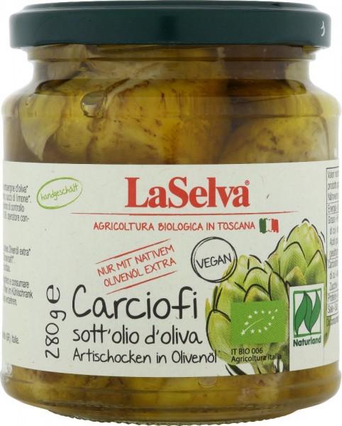 Carciofini sott'olio d'oliva - 280g