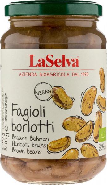 Fagioli borlotti lessati - 340g