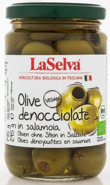 Olive verdi denocciolate in salamoia - 295g