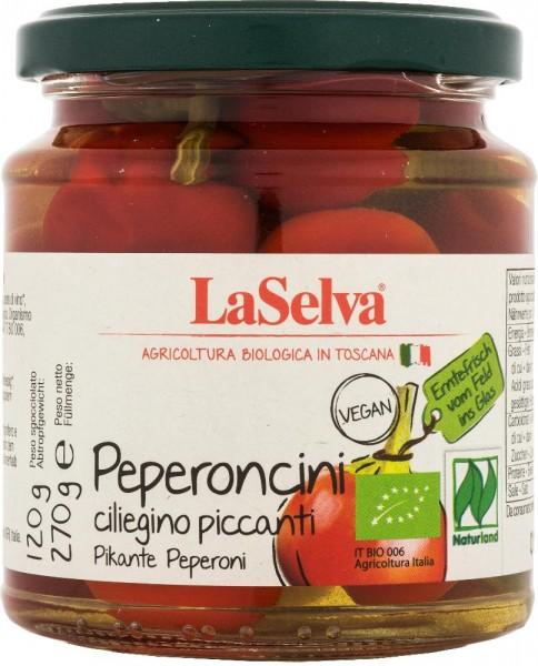 Peperoncini ciliegino piccanti - 270g