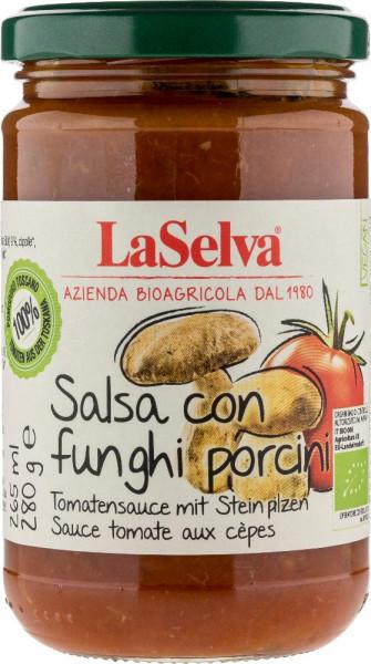 Salsa di pomodoro con funghi porcini - 280g