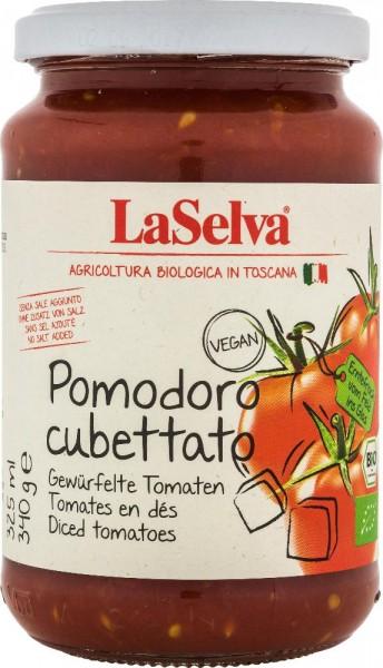Pomodoro cubettato - Pomodori in pezzi - 340g