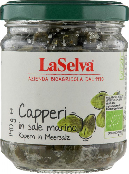 Capperi in sale marino - 140g